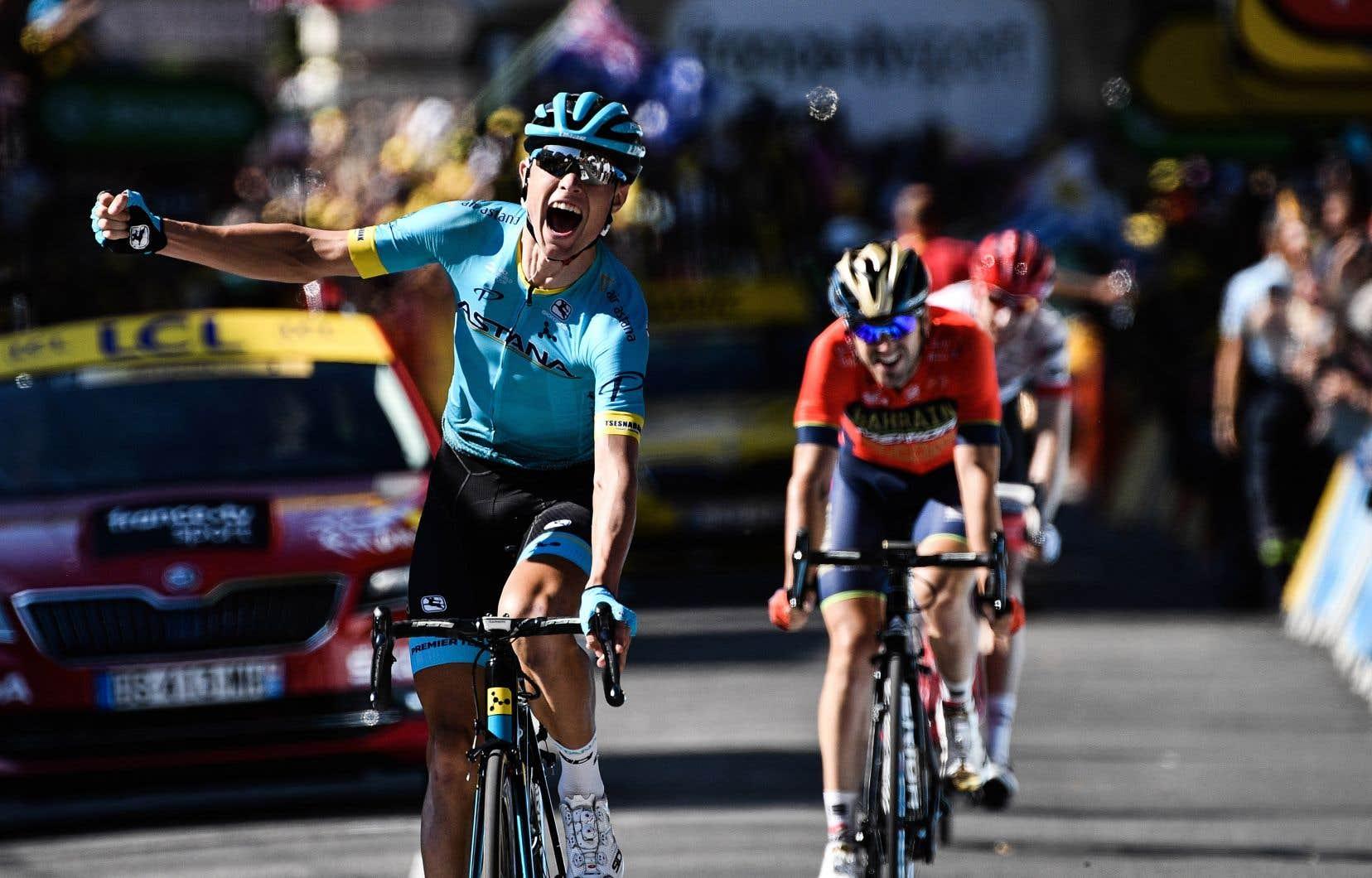 Magnus Cort Nielsen a signé la première victoire danoise depuis neuf ans au Tour de France, devant le Néerlandais Bauke Mollema et l'Espagnol Ion Izagirre.