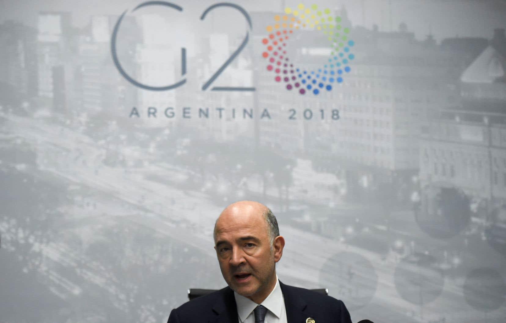Le commissaire européen aux Affaires économiques, Pierre Moscovici, dimanche