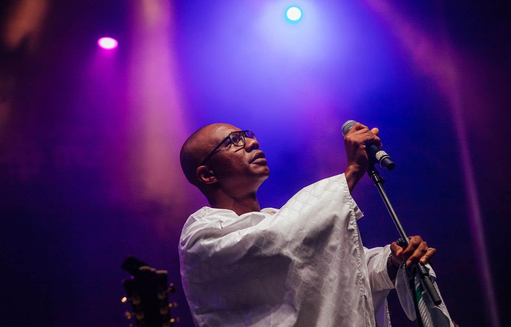 Quand Sékouba Diabaté, dit Bambino, est arrivé sur scène, c'était pour le grand moment de clôture, et tout le monde a pu en profiter comme il se devait.