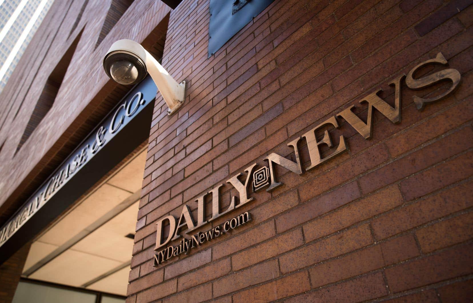 Les revenus du «Daily News» ont chuté de 22% entre 2014 et 2016.