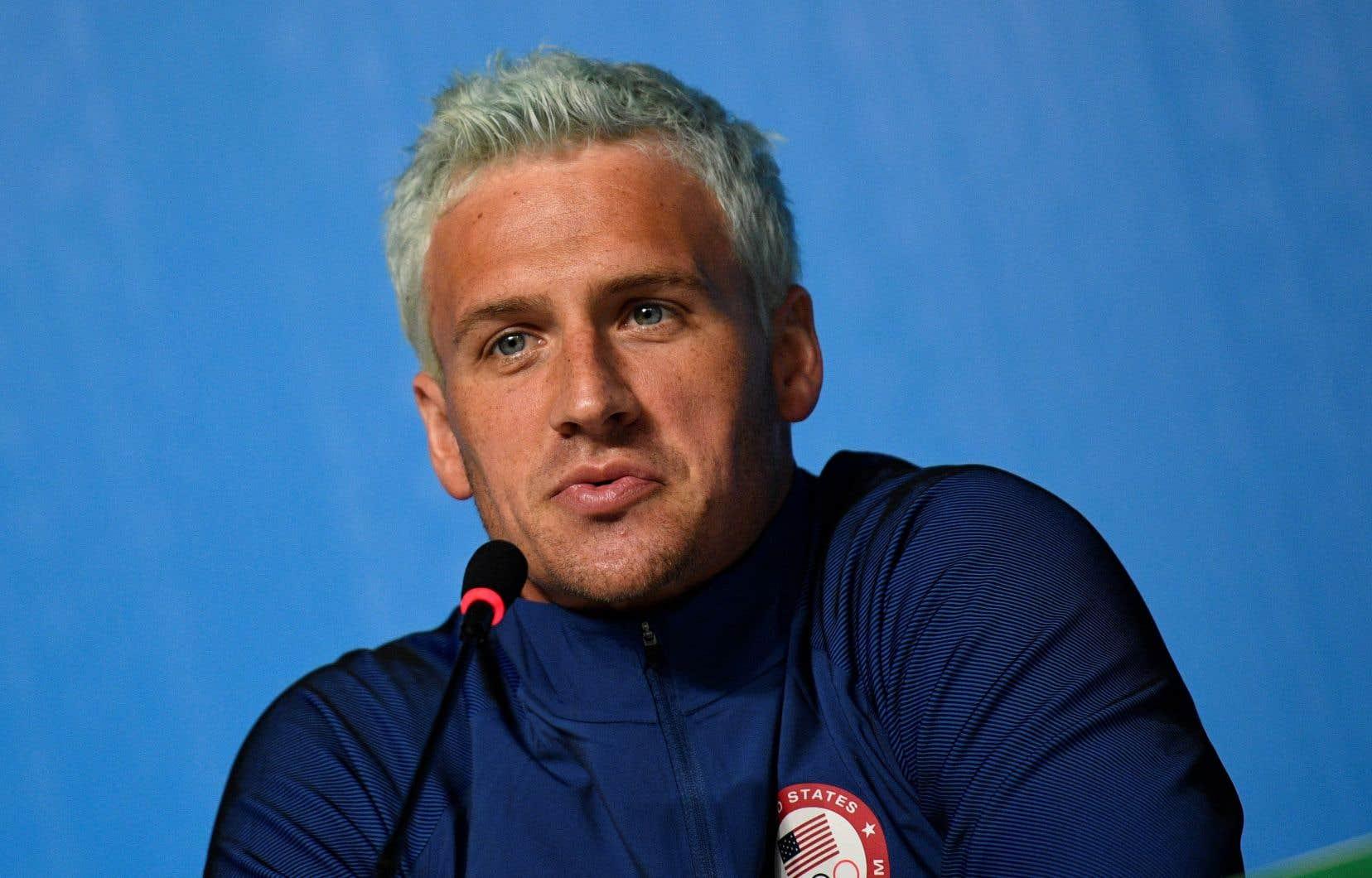 Le nageur Ryan Lochte a reçu une perfusion d'une substance légale, mais dépassant la limite autorisée par l'agence américaine antidopage.