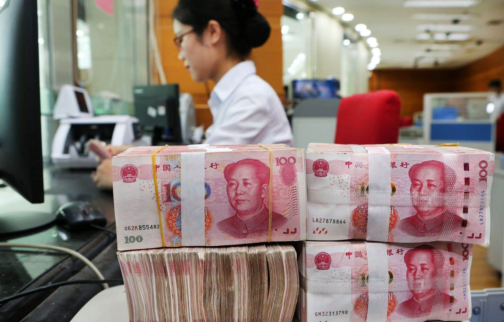 La monnaie chinoise a perdu 8% de sa valeur face au billet vert depuis avril.