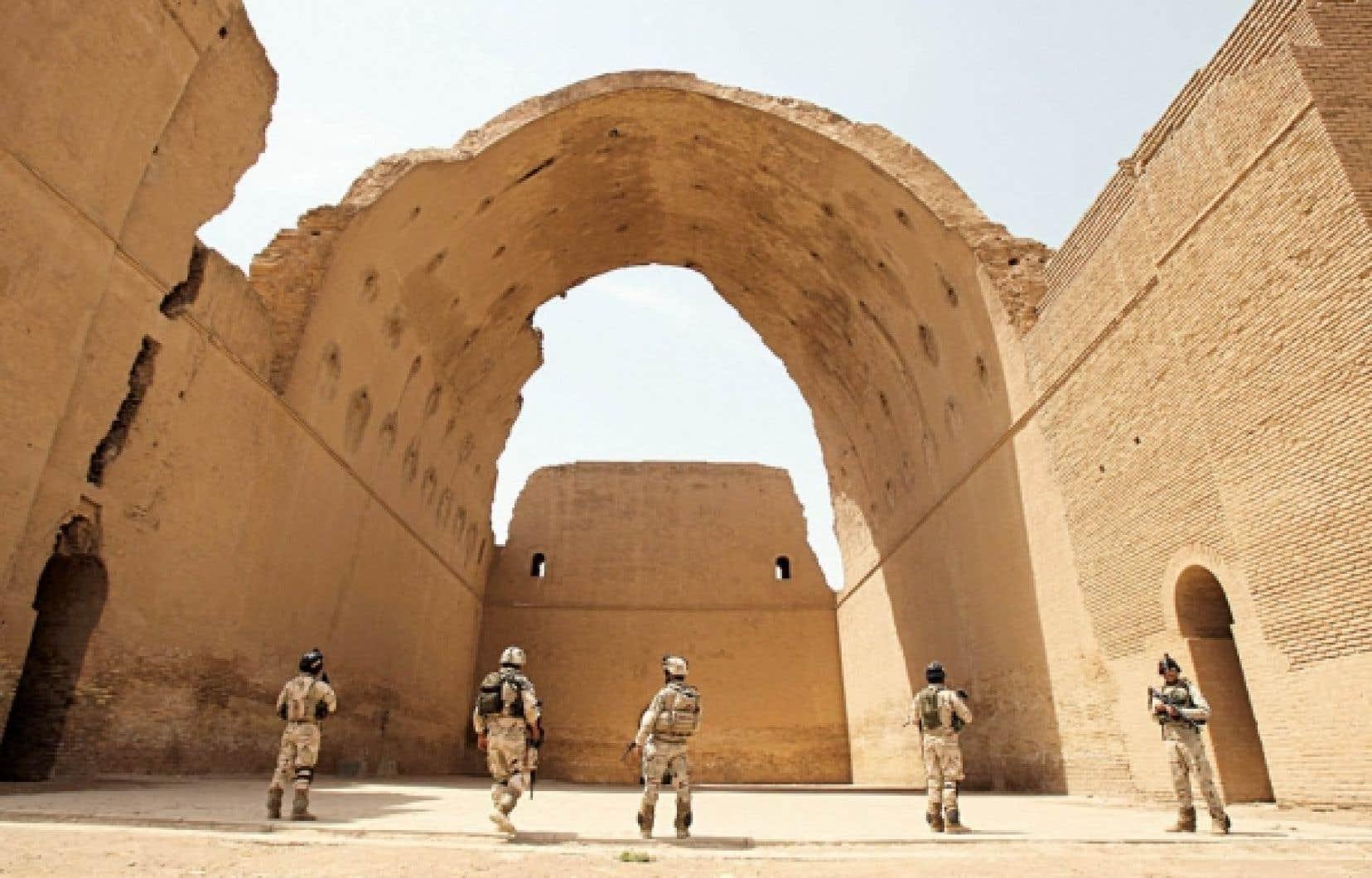 L'armée irakienne a également mené des opérations au sud de la capitale, notamment sur le site de l'Arche de Ctésiphon.
