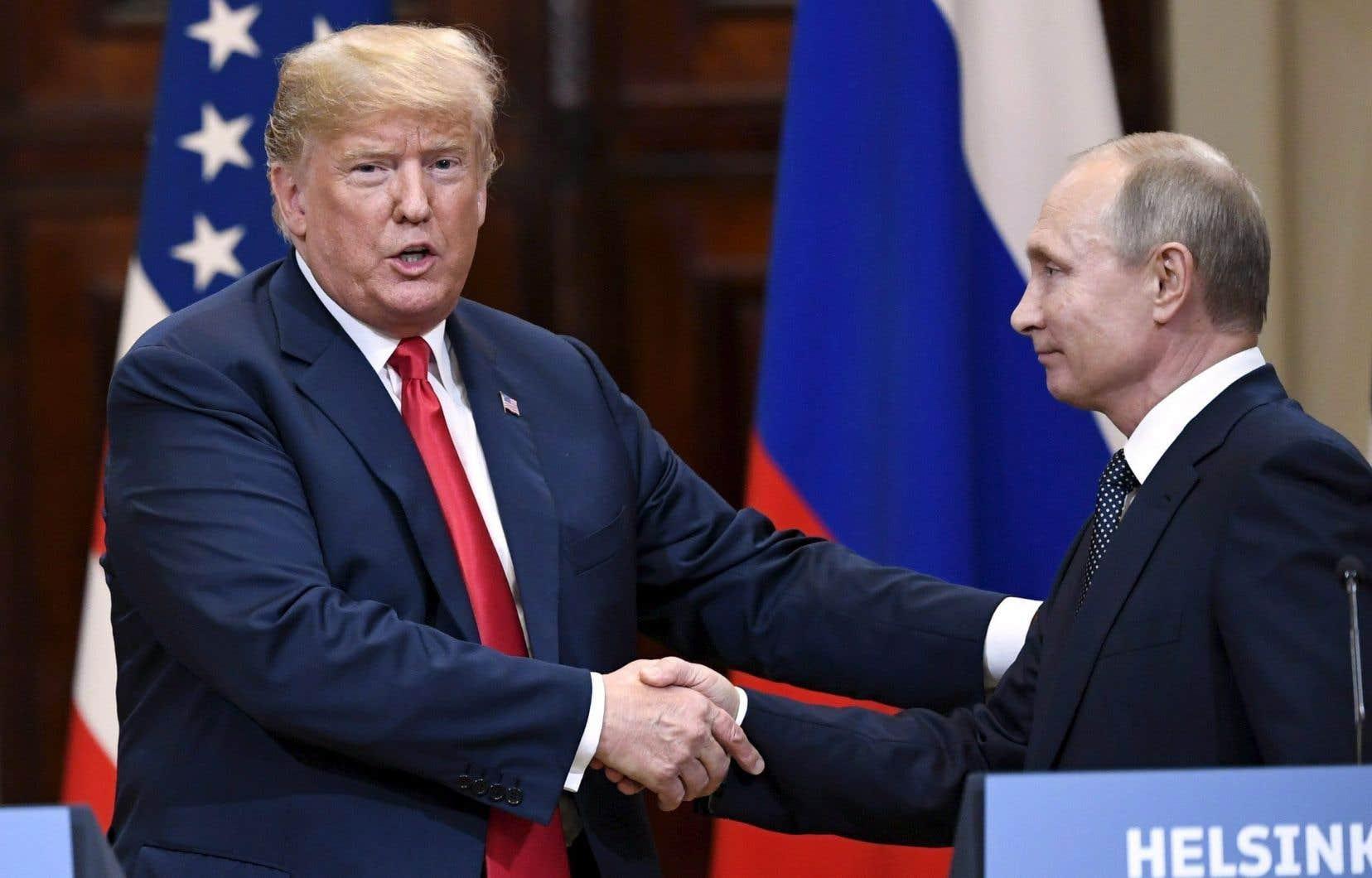 Le prochain sommet Trump-Poutine, initialement envisagé pour l'automne à Washington, aura finalement lieu «l'année prochaine», a fait savoir la présidence américaine.
