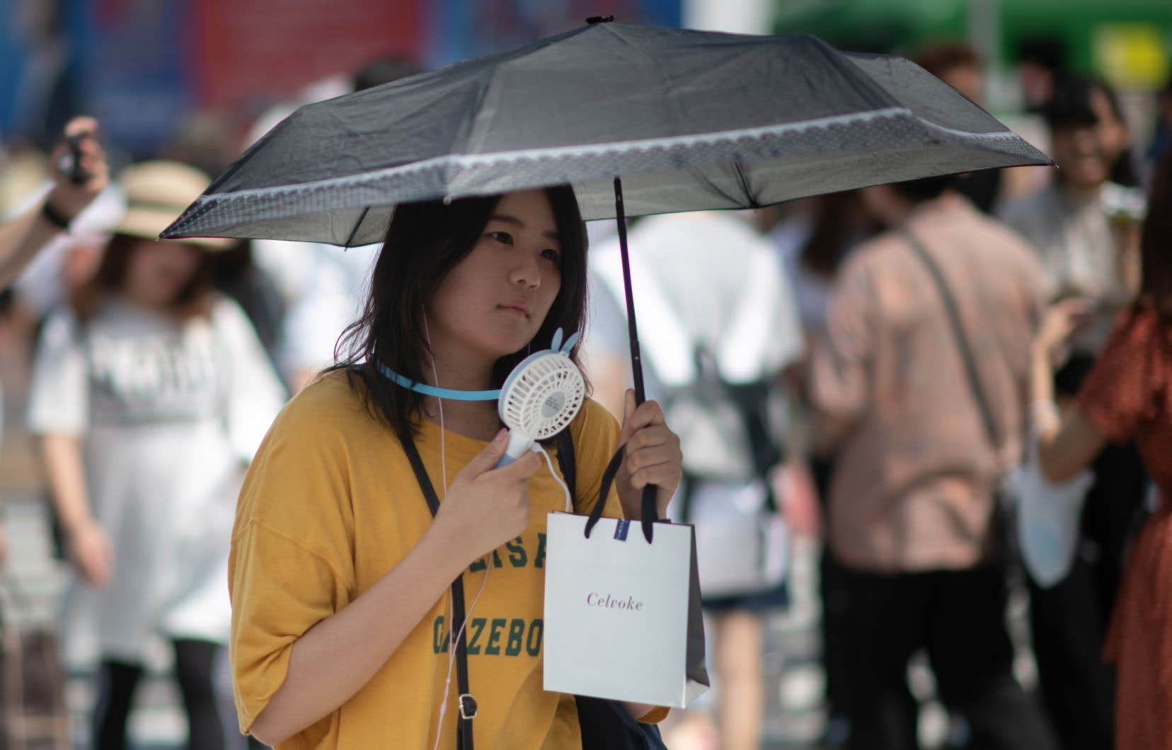 Au Japon, la canicule a fait plusieurs dizaines de morts.