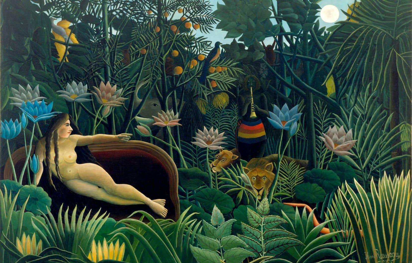 «Le rêve», Henri Rousseau, 1910