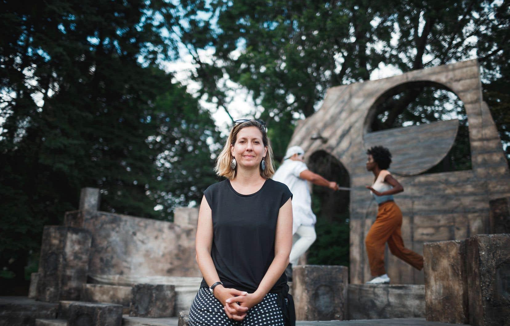La directrice artistique Amanda Kellock regrette que certains se sentent exclus par une romance entre deux femmes dans la mise en scène de son «Romeo & Juliet: Love is Love».