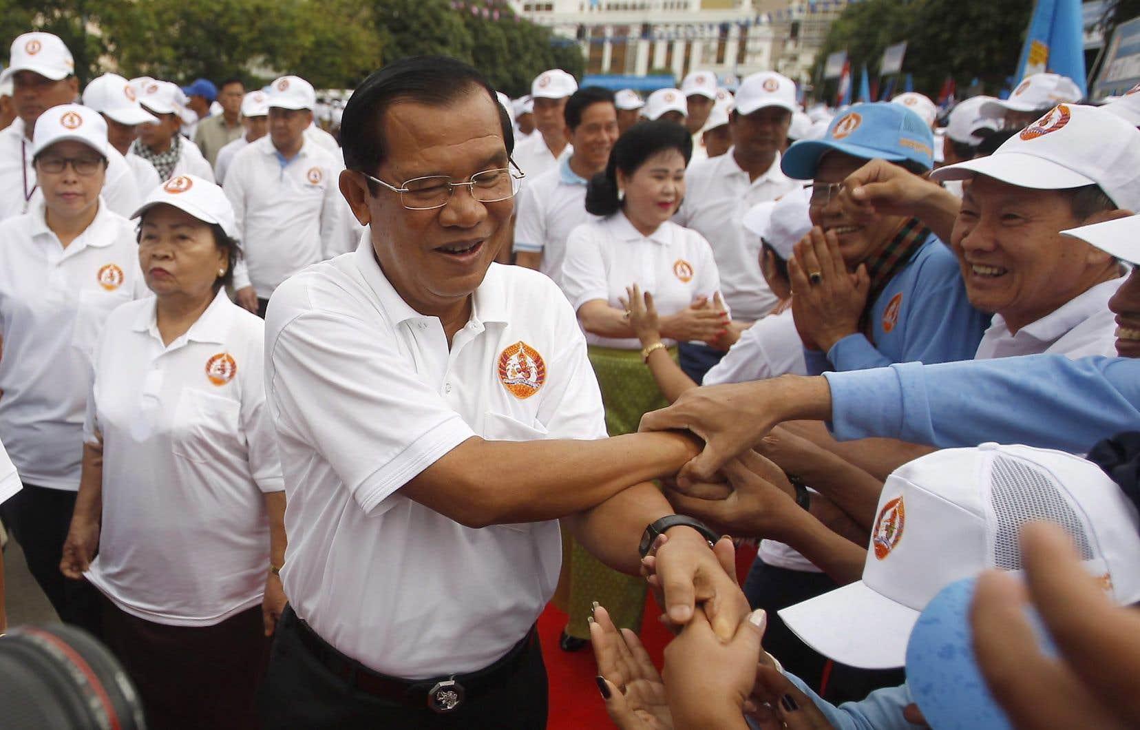 Hun Sen, au pouvoir au Cambodge depuis plus de trente ans
