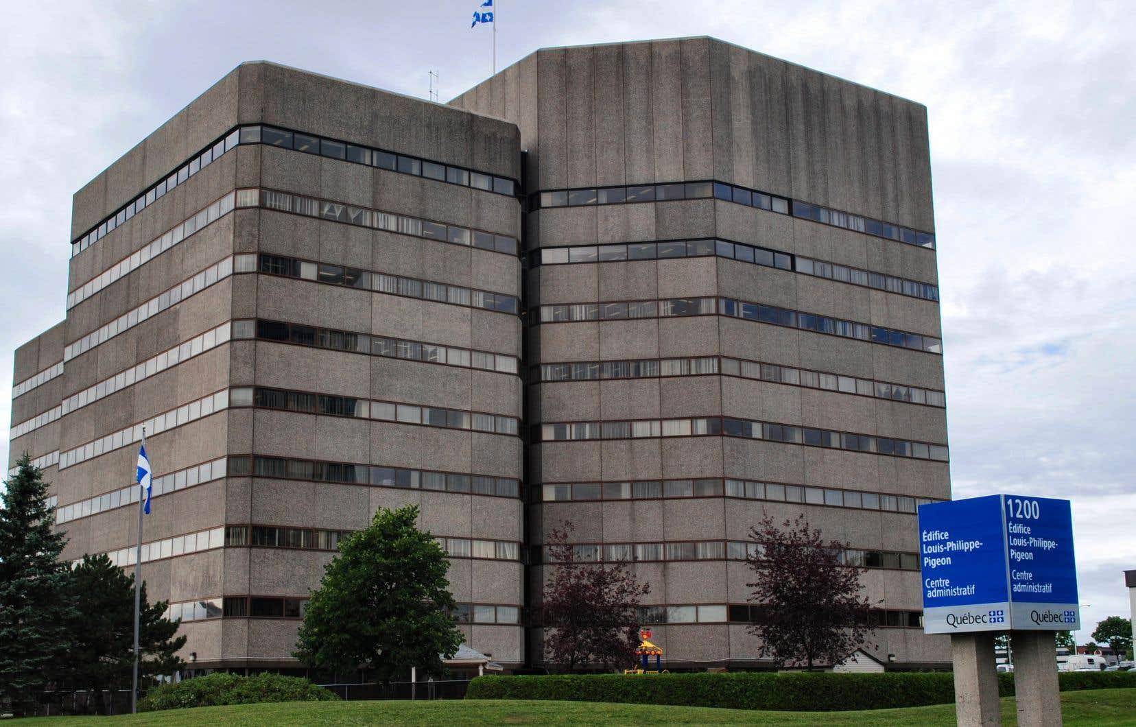 L'édifice du ministère de la Justice, à Québec