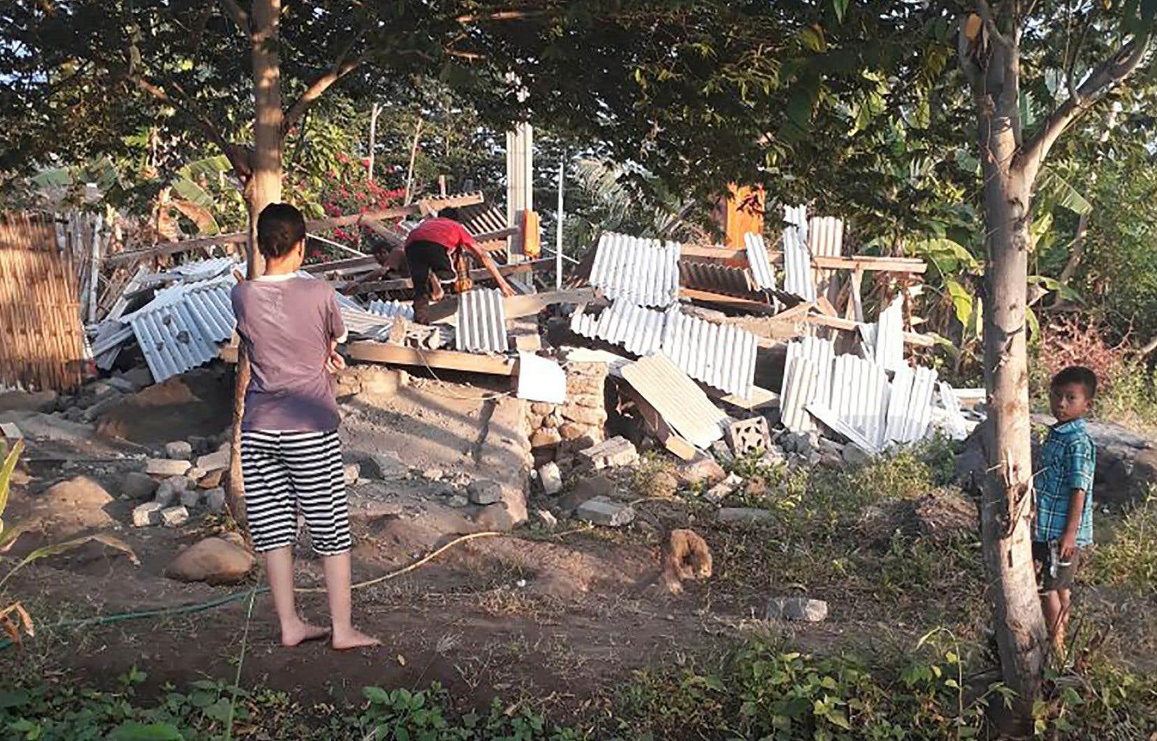 Le séisme a eu lieu à 50 kilomètres au nord-est de Mataram, la principale ville de l'île de Lombok.