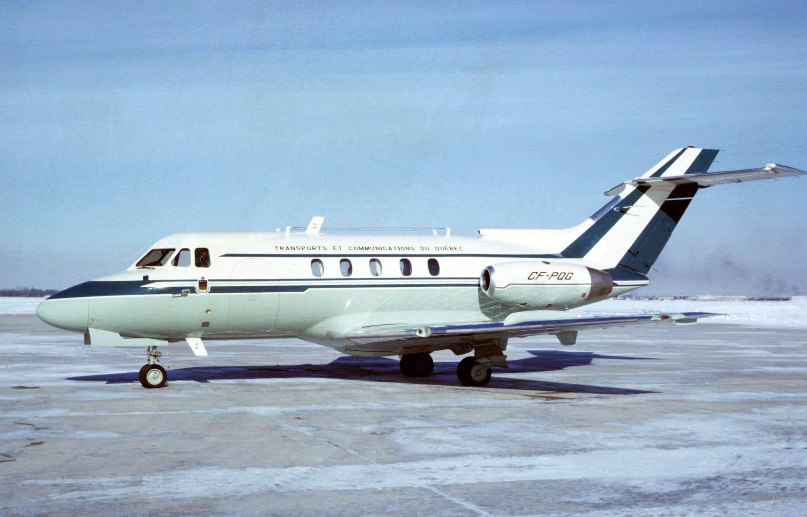 Filant à 740km/h, le «jet à Lesage» est, durant un quart de siècle, le modeste équivalent québécois du «Air Force One» américain.