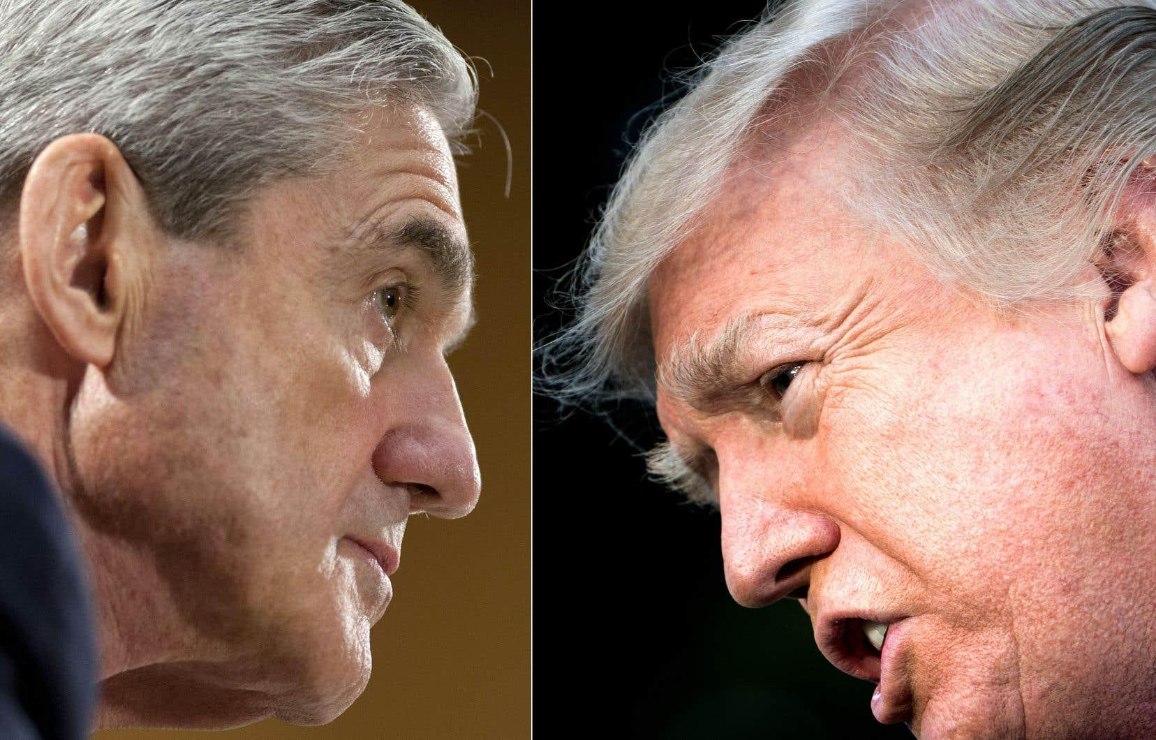 Donald Trump avait déjà évoqué l'existence de conflits d'intérêt concernant le procureur spécial Robert Mueller, mais c'est la première fois qu'il détaille publiquement ses accusations.