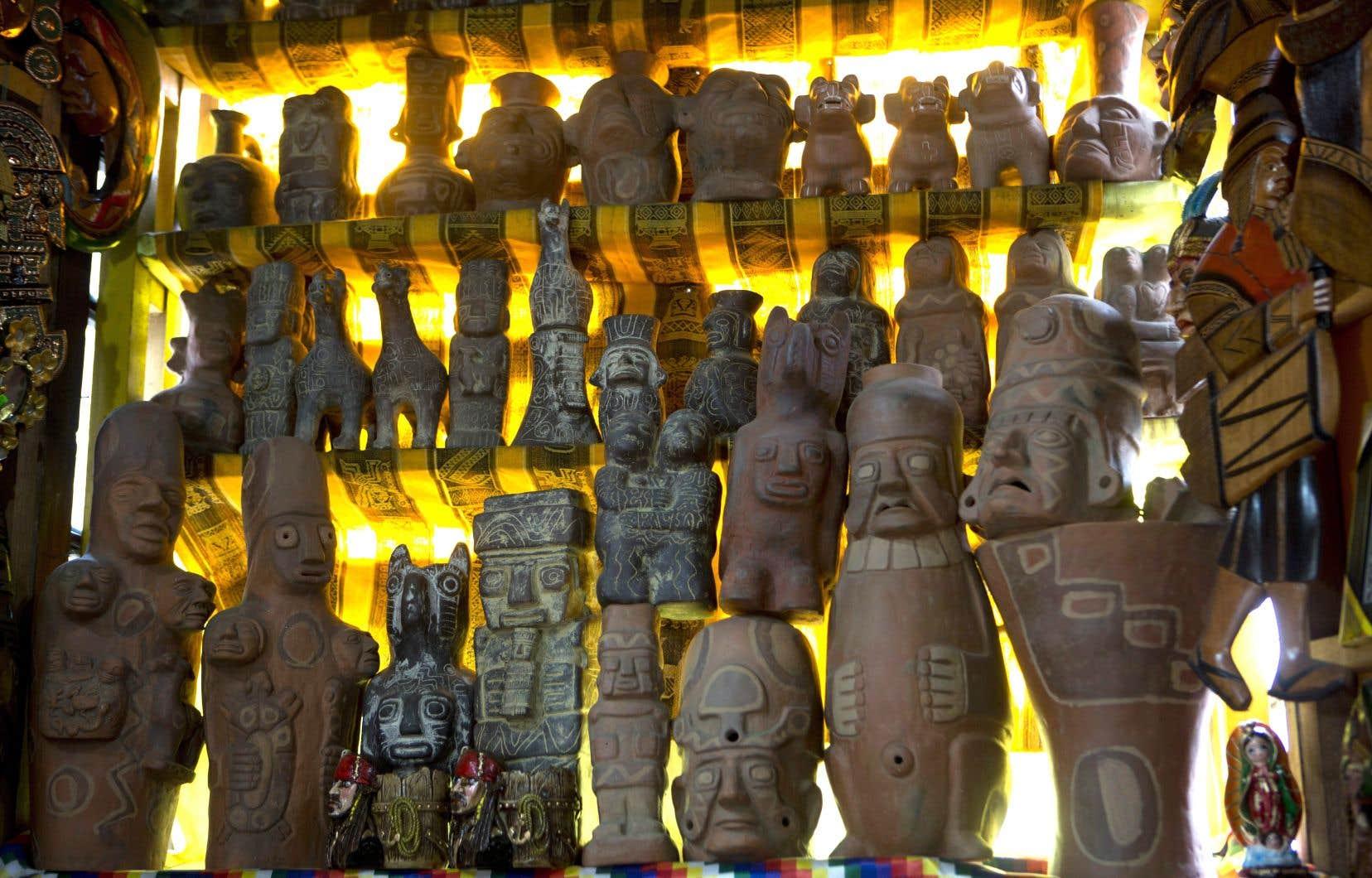 Des pratiques autrefois considérées comme païennes ont survécu à la colonisation.