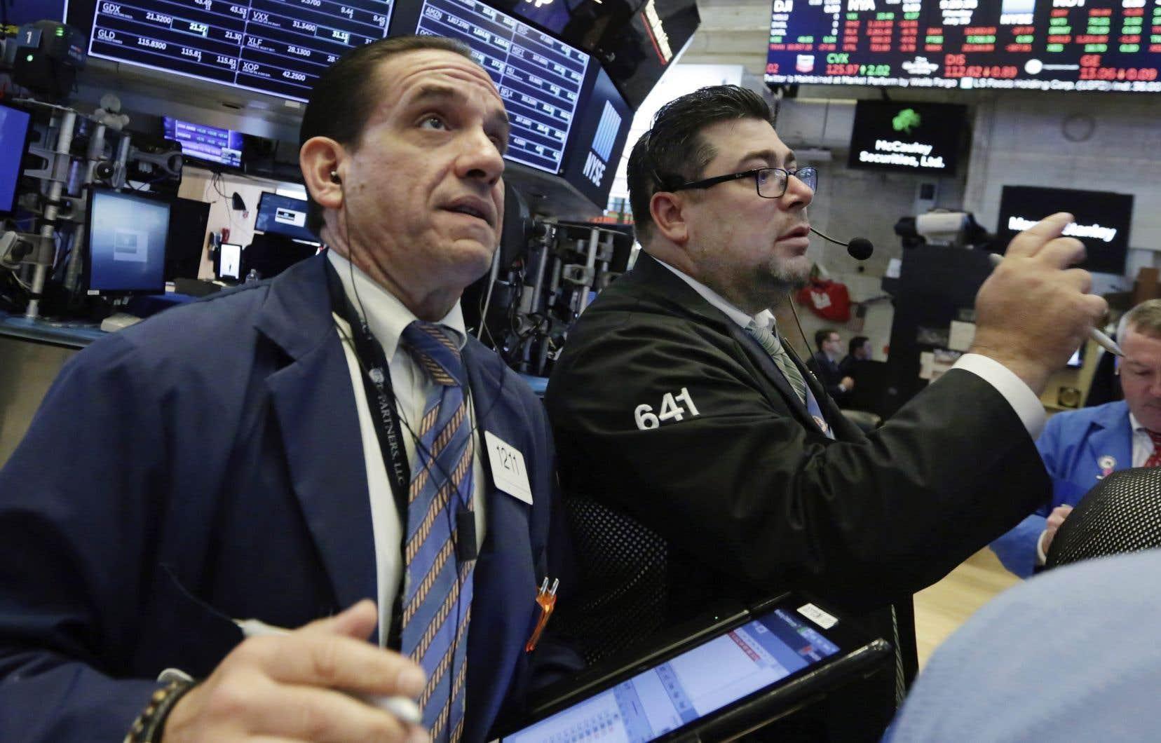 L'indice vedette de la place new-yorkaise, le Dow Jones, a gagné 0,4% à 25415,19 points.