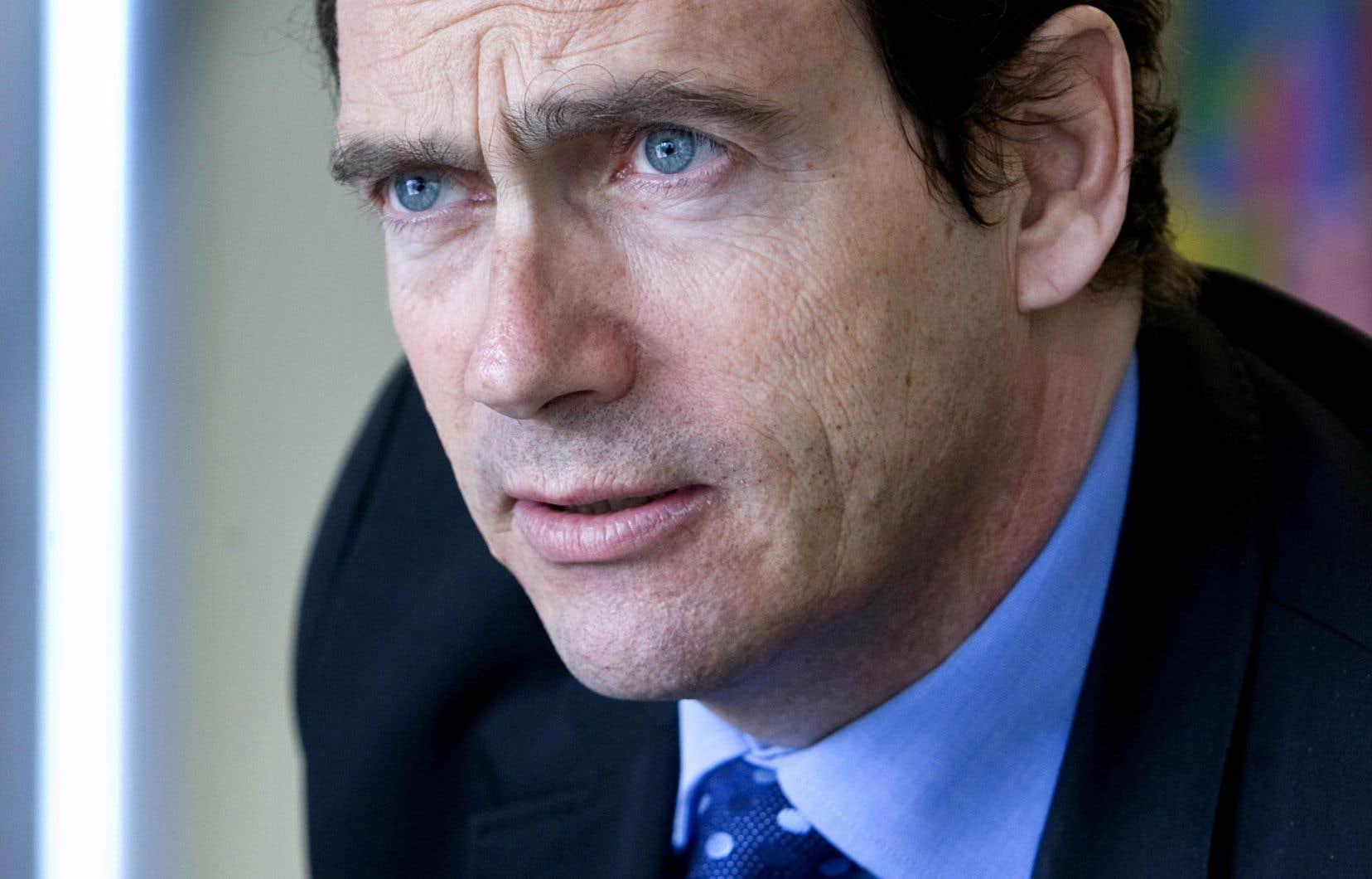 À deux mois des élections, Pierre Karl Péladeau n'a toujours pas fermé la porte à un retour en politique.