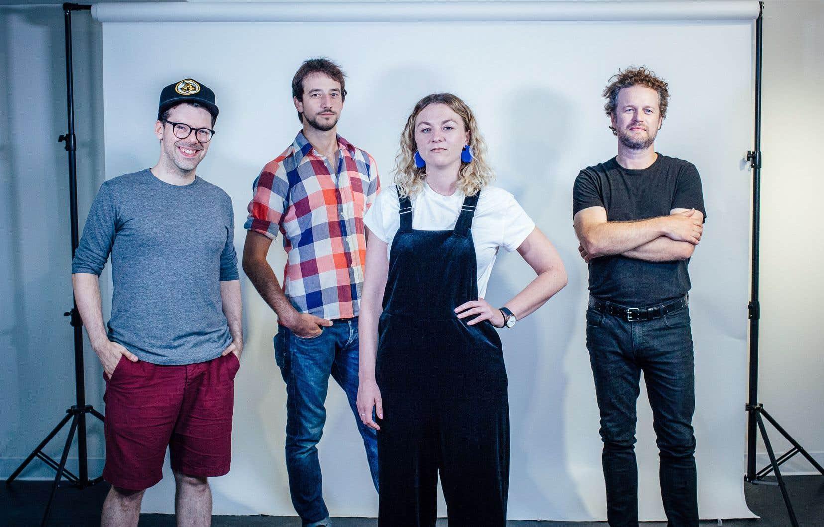Simon Boulerice, Christian Guay-Poliquin, Stéphanie Boulay et Tristan Malavoy seront présents aux Correspondances d'Eastman.