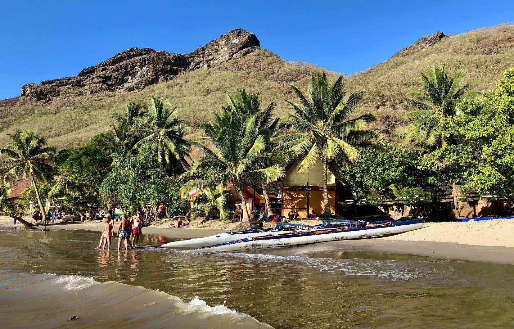 Ua Pou, l'île coup de cœur en raison de sa belle plage, chose rare en Polynésie!