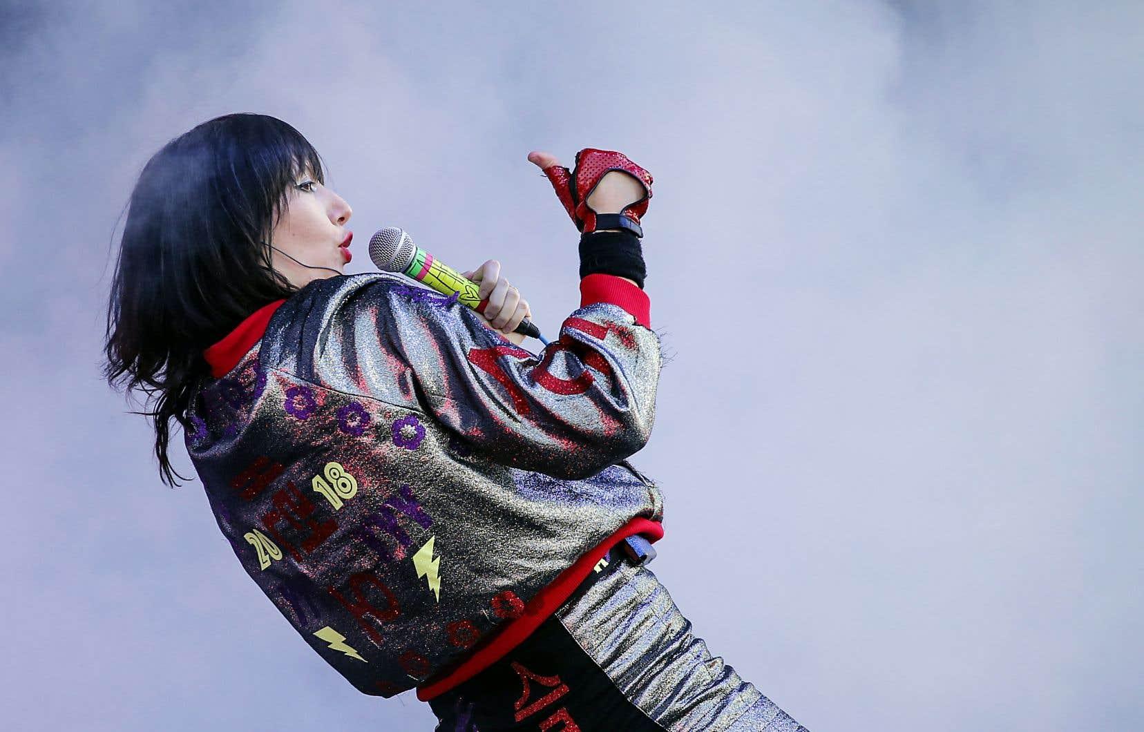 La chanteuse de Yeah Yeah Yeahs, Karen O