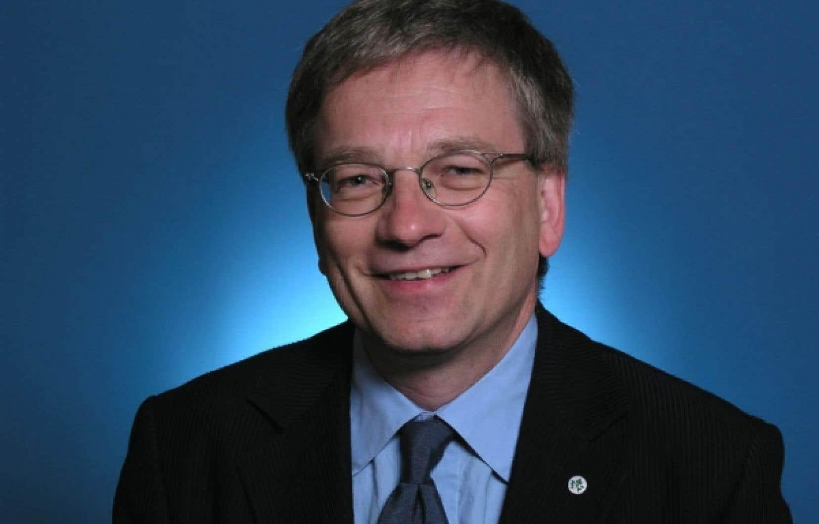 Rémi Quirion, vice-doyen de la Faculté de médecine et conseiller principal de l'Université McGill