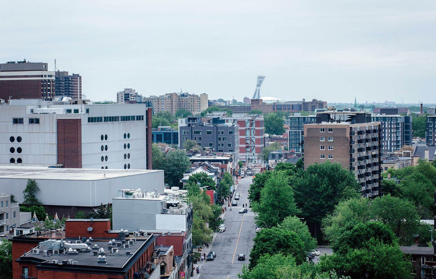À l'INRS comme à McGill, les chercheurs s'intéressent aussi à l'importance des zones dites calmes dans la ville.