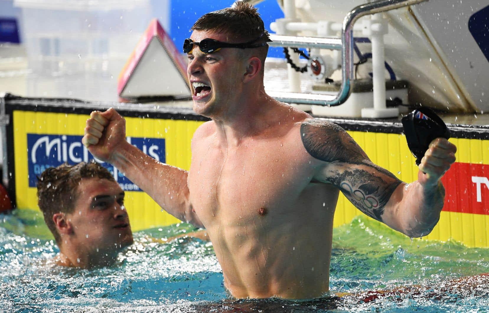«Mon objectif n'est pas seulement de gagner, je veux dominer», a déclaré samedi le britannique Adam Peaty.