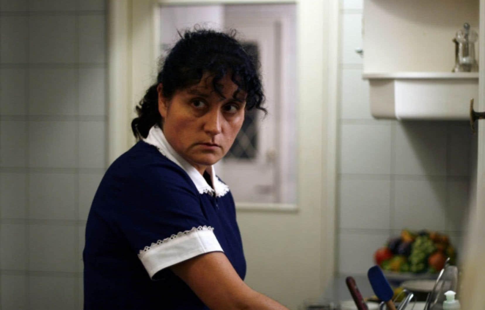 Catalina Saavedra dans La Nana, de Sebastian Silva