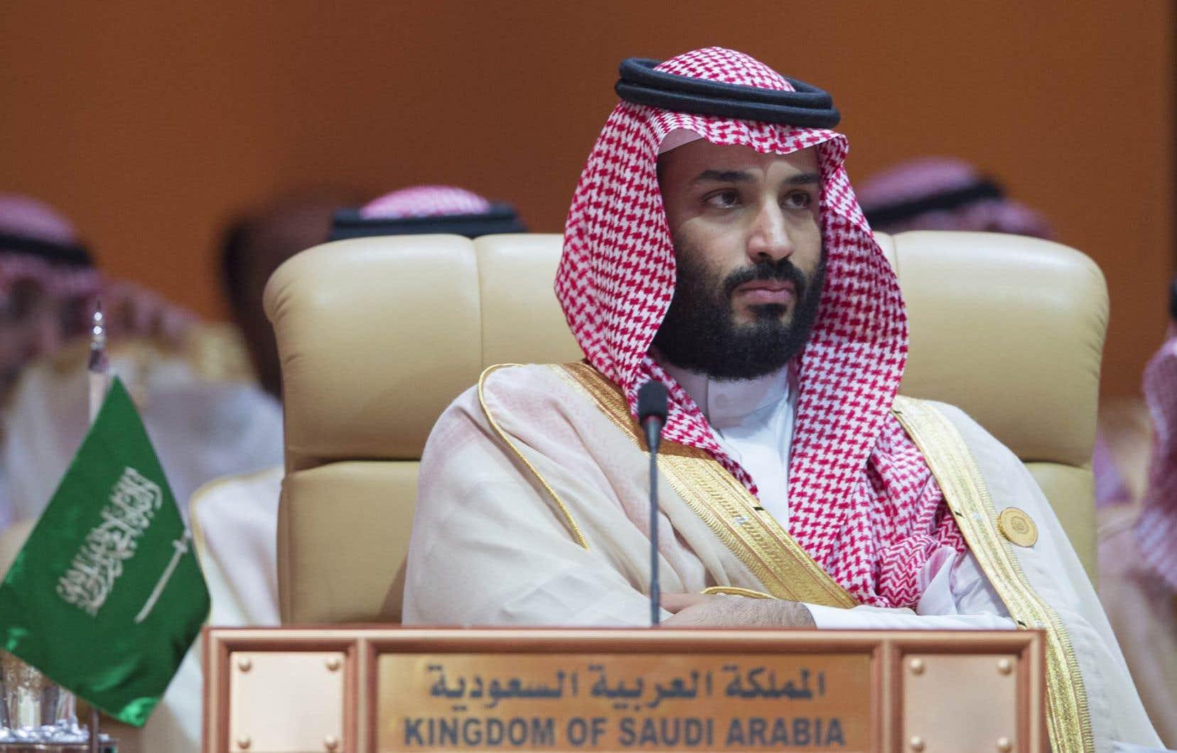 Le prince héritier saoudien, Mohammed ben Salmane