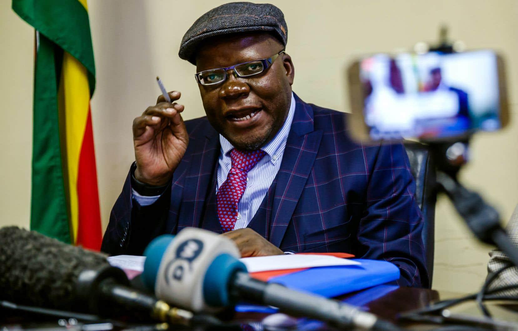 Tendai Biti, figure de l'opposition et ancien ministre des Finances du pays, a été arrêté à la frontière de la Zambie, alors qu'il cherchait «l'asile» politique dans le pays voisin.