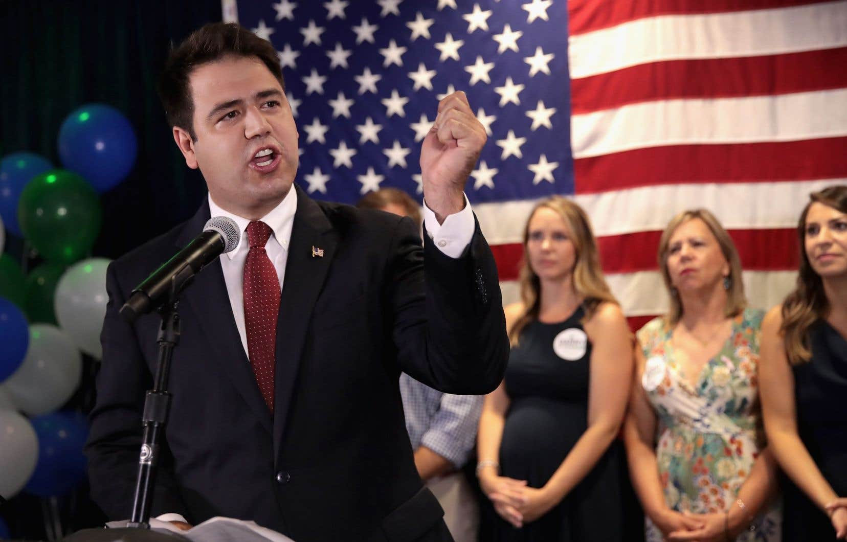 En Ohio, le républicain Troy Balderson a revendiqué la victoire, même s'il pourrait y avoir un recomptage.