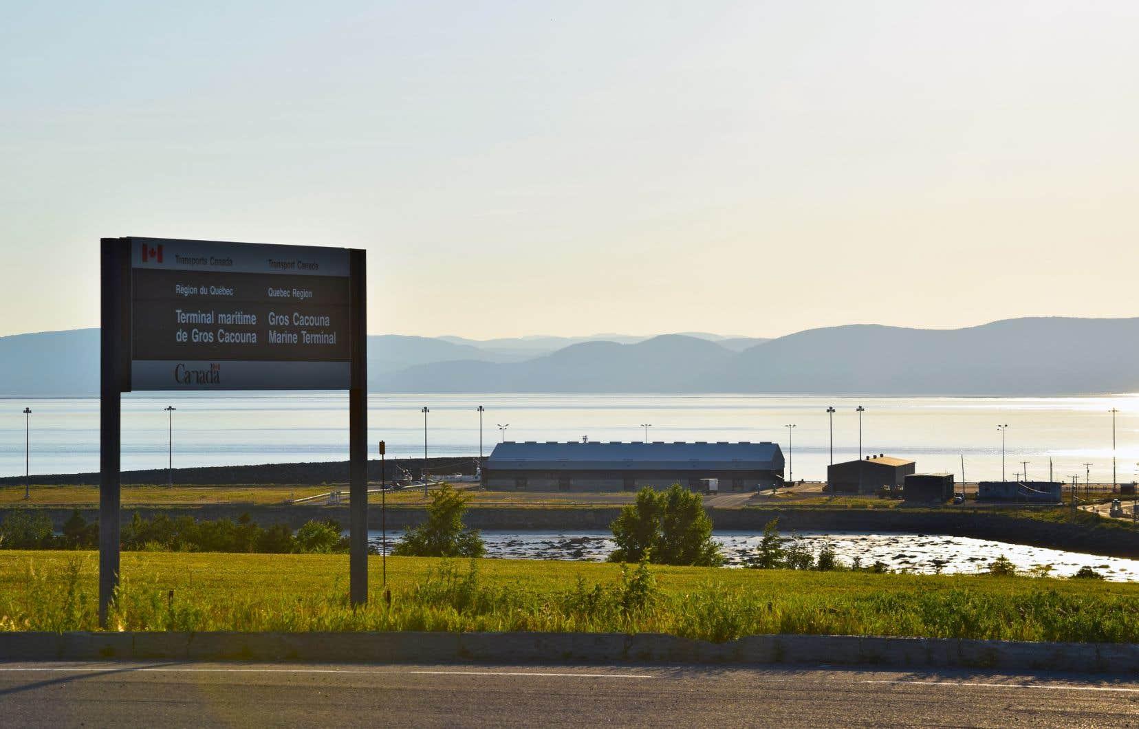 Le gouvernement du Québec deviendra propriétaire du port de Cacouna, qui avait été au coeur de la saga pétrolière du projet de pipeline Énergie Est.