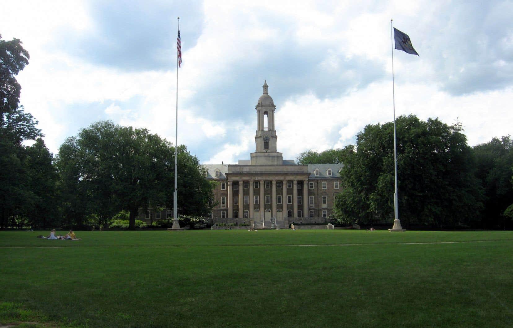 L'Université d'État de Pennsylvanie (notre photo) a été invitée à accueillir dix-neuf Saoudiens alors que l'Université Johns-Hopkins aurait été sollicitée pour en accepter vingt-quatre dans son programme de médecine.
