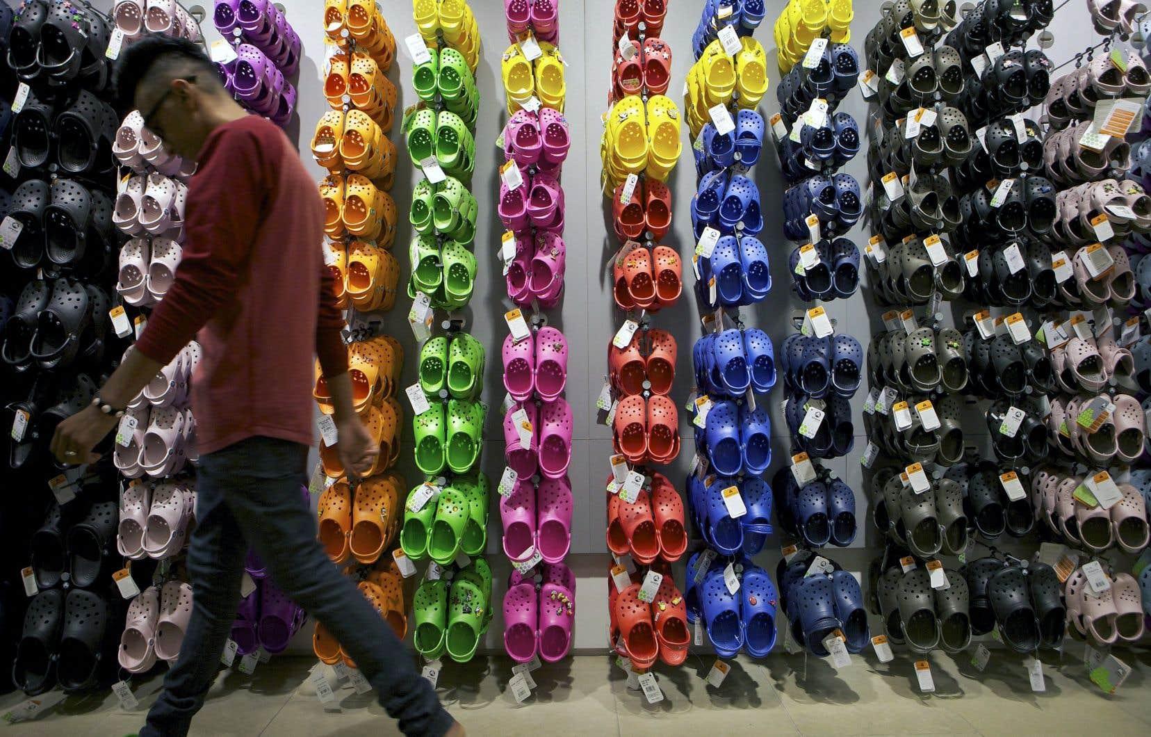 Créée en 2002, la marque a écoulé 200millions de paires de chaussures dans 90 pays en12 ans.