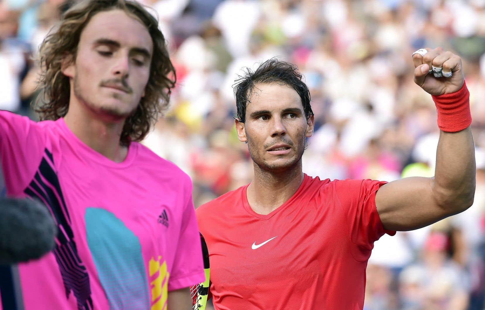 Rafael Nadal a remporté son cinquième titre sur le circuit de l'ATP cette année grâce à sa victoire contre Stefanos Tsitsipas.