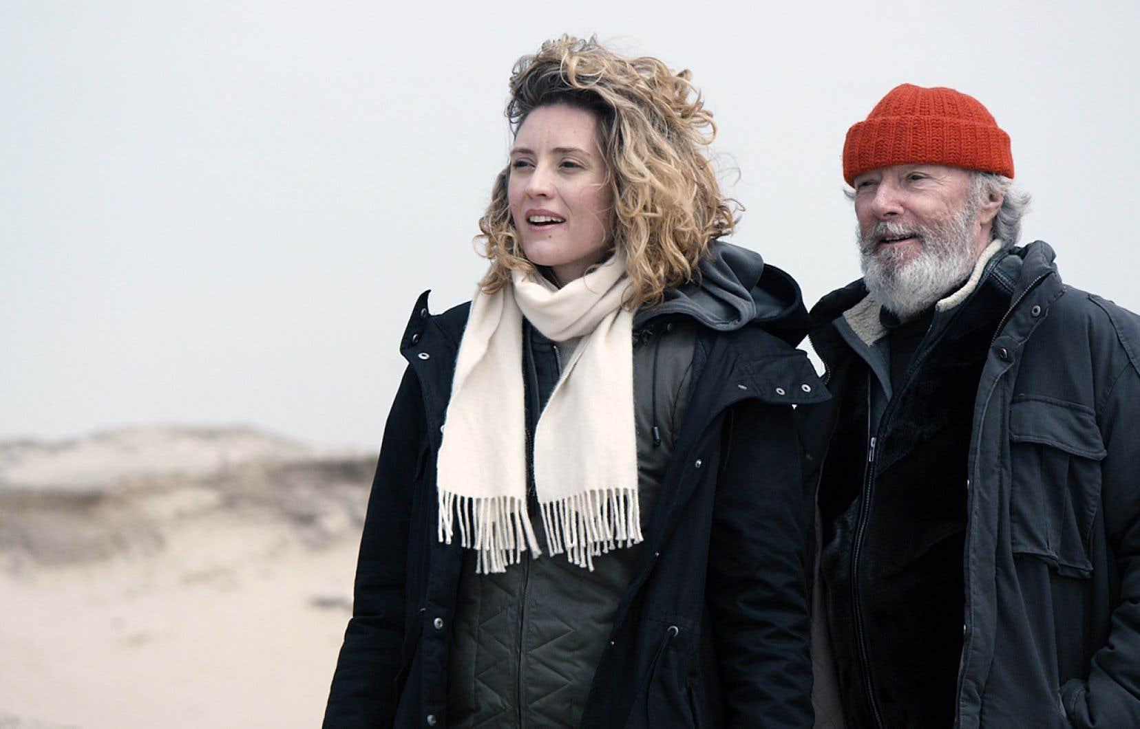 Sophie Deraspe a tourné «Les loups» aux îles de la Madeleine avec Évelyne Brochu et Gilbert Sicotte (notre photo) en plein hiver.