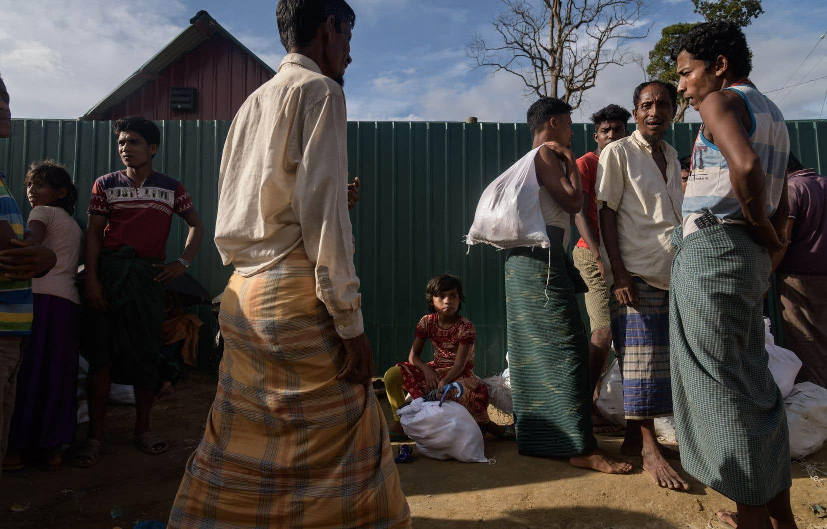 Sans prendre d'engagements, le Bangladesh a «répondu positivement» à la proposition du Myanmar.