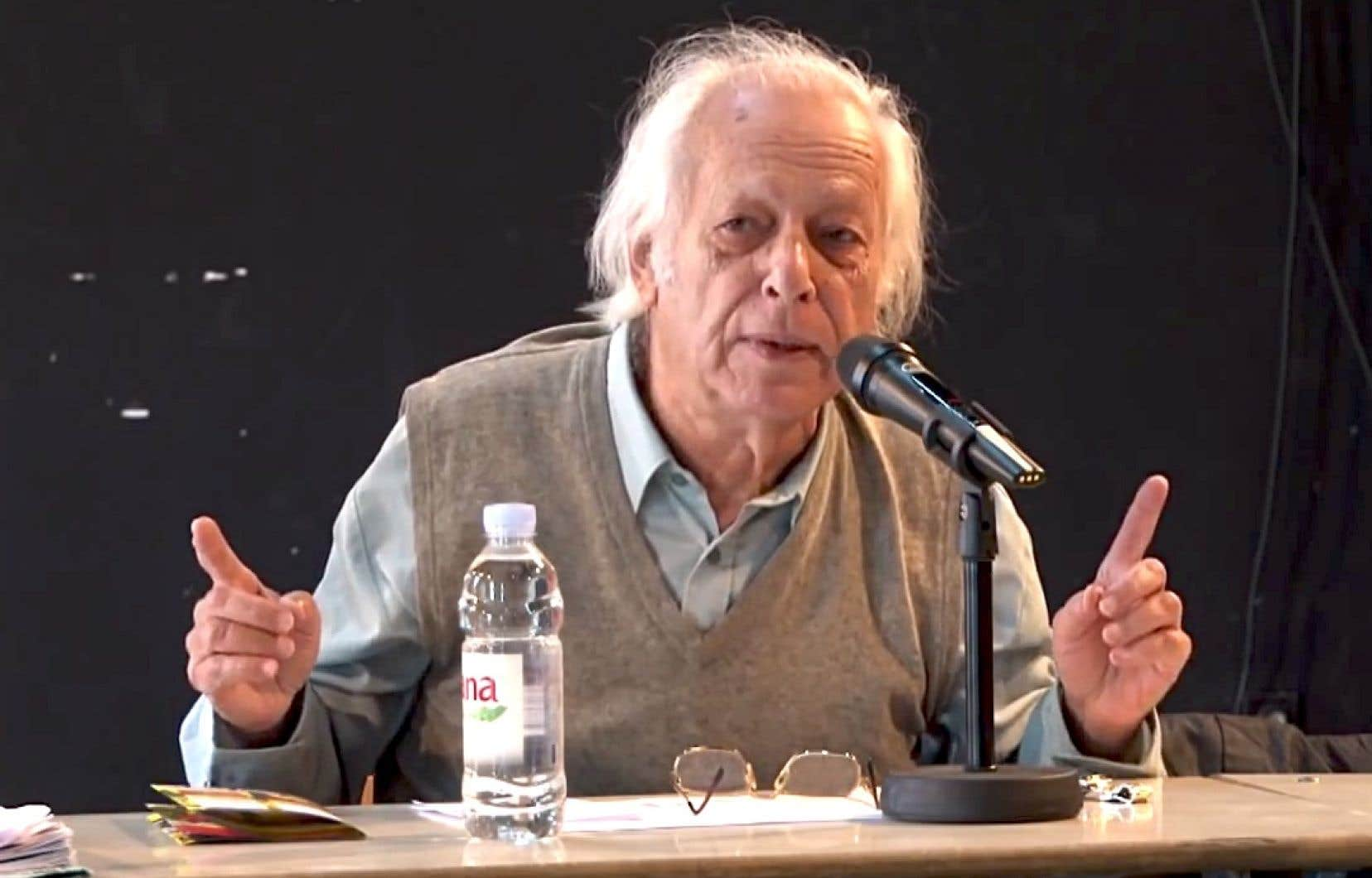 Samir Amin en 2012
