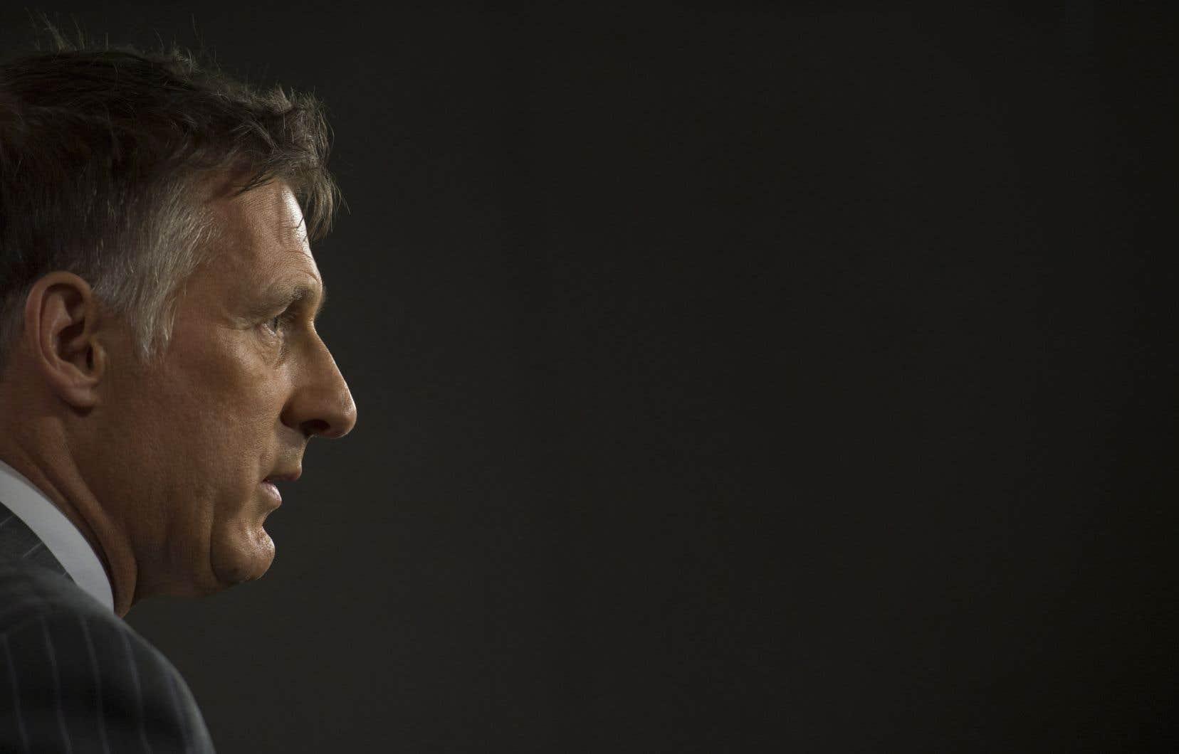 Maxime Bernier qualifie de «multiculturalisme extrême» le message souvent répété par le premier ministre Justin Trudeau sur les vertus de la diversité au Canada.