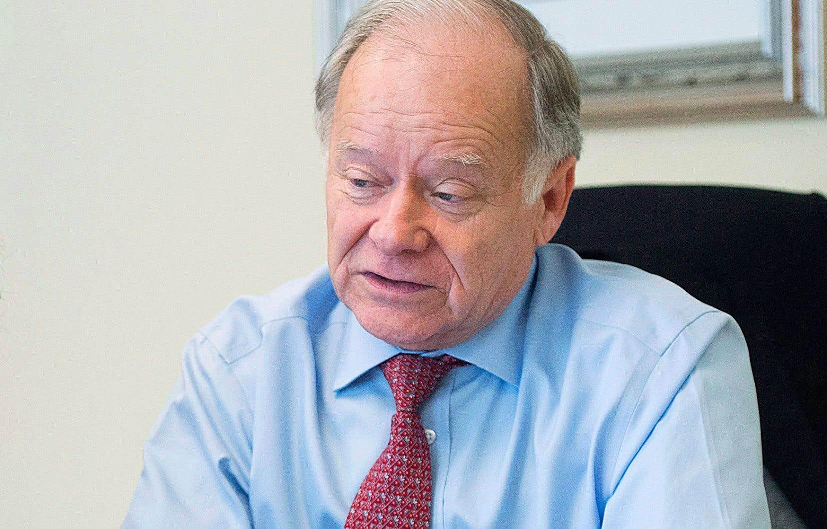Raymond Bachand est le négociateur en chef de l'ALENA pour le Québec.