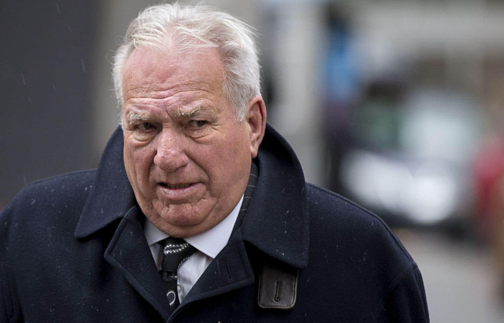 Bernard Trépanier avait été arrêté en mai 2012 par l'UPAC relativement au dossier du Faubourg Contrecœur.