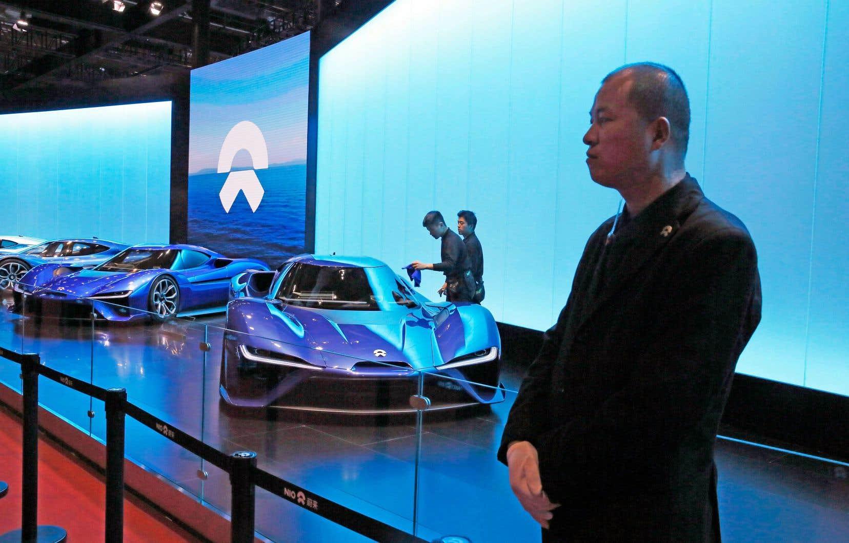 NIO veut commercialiser dès 2020 des voitures électriques aux États-Unis.