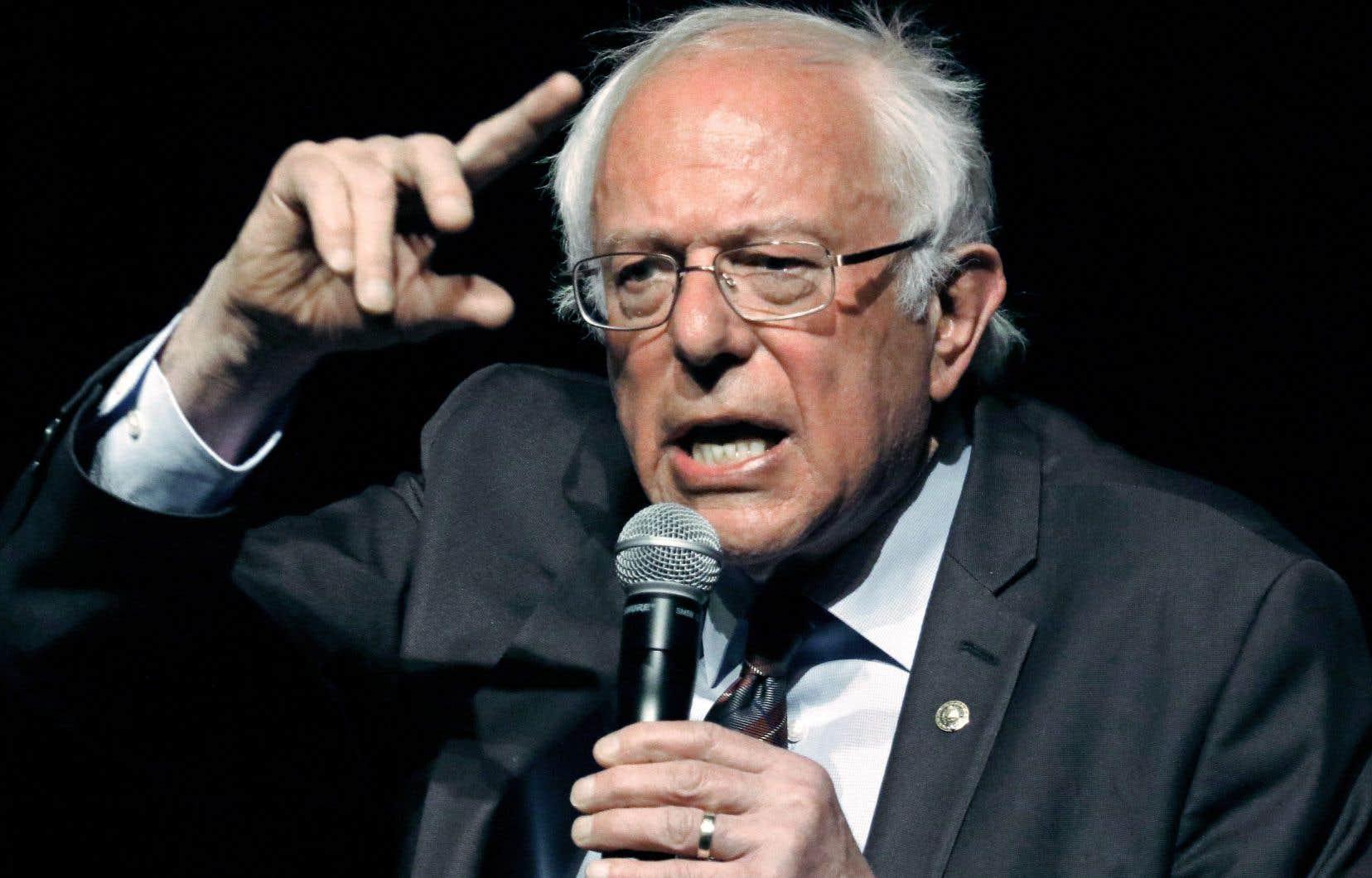 Le sénateur américain Bernie Sanders