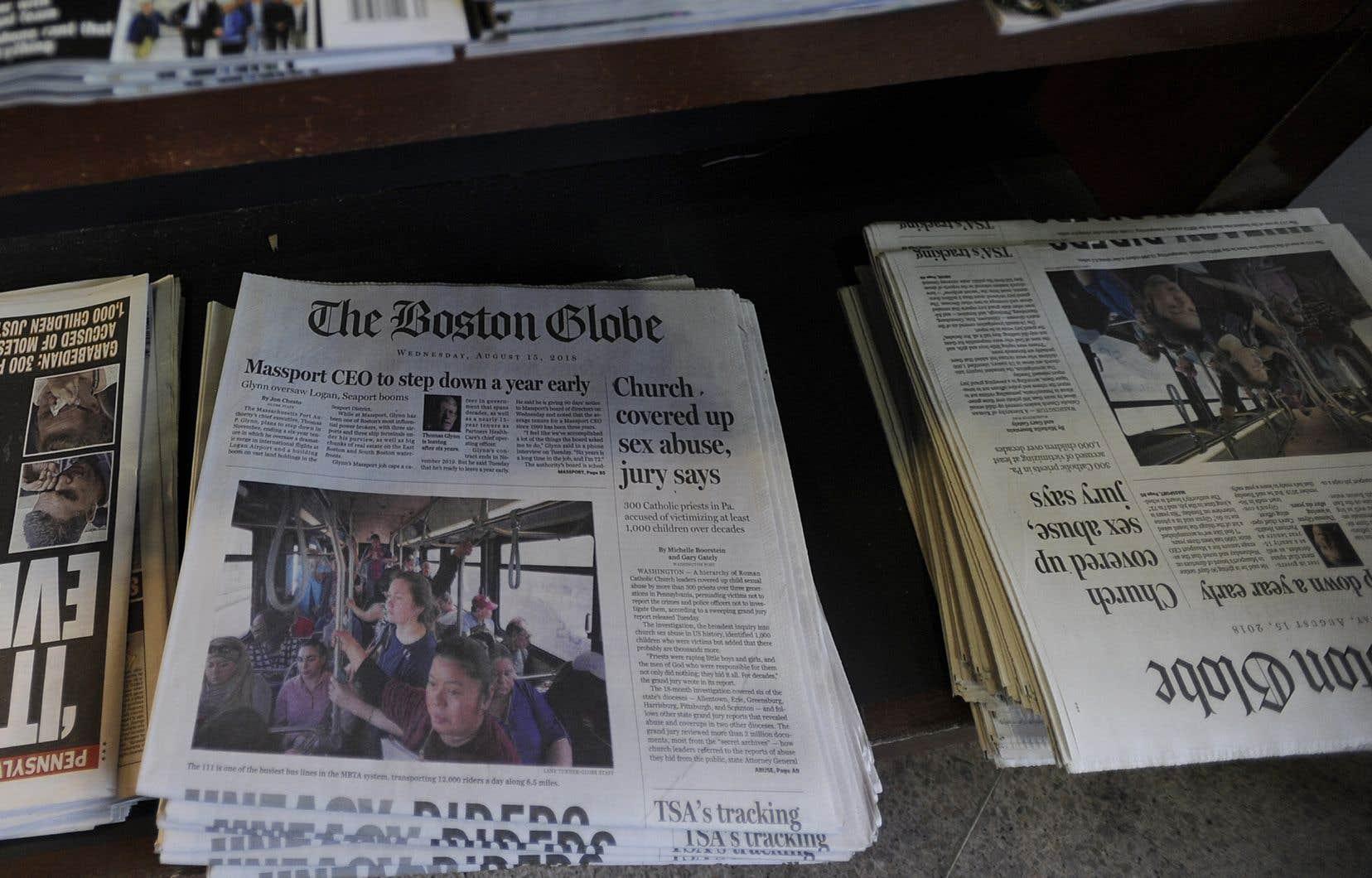 Le «Boston Globe»<em> </em>est à l'initiative de cette campagne pour réagir à la multiplication des coups de boutoir du président américain contre les médias.