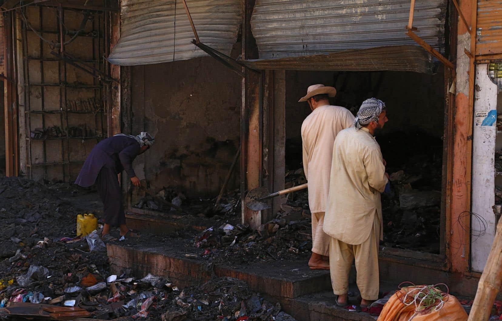 Les forces afghanes semblent avoir repoussé les talibans assaillant depuis près d'une semaine la ville de Ghazni.