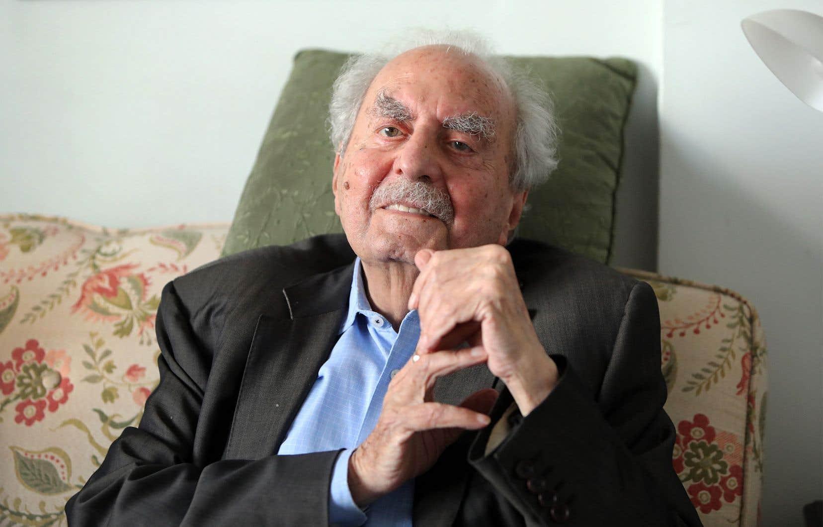 Le romancier, nouvelliste, essayiste et critique Naïm Kattan célébrera son 90eanniversaire le 26août lors d'une petite soirée avec son épouse, au restaurant.