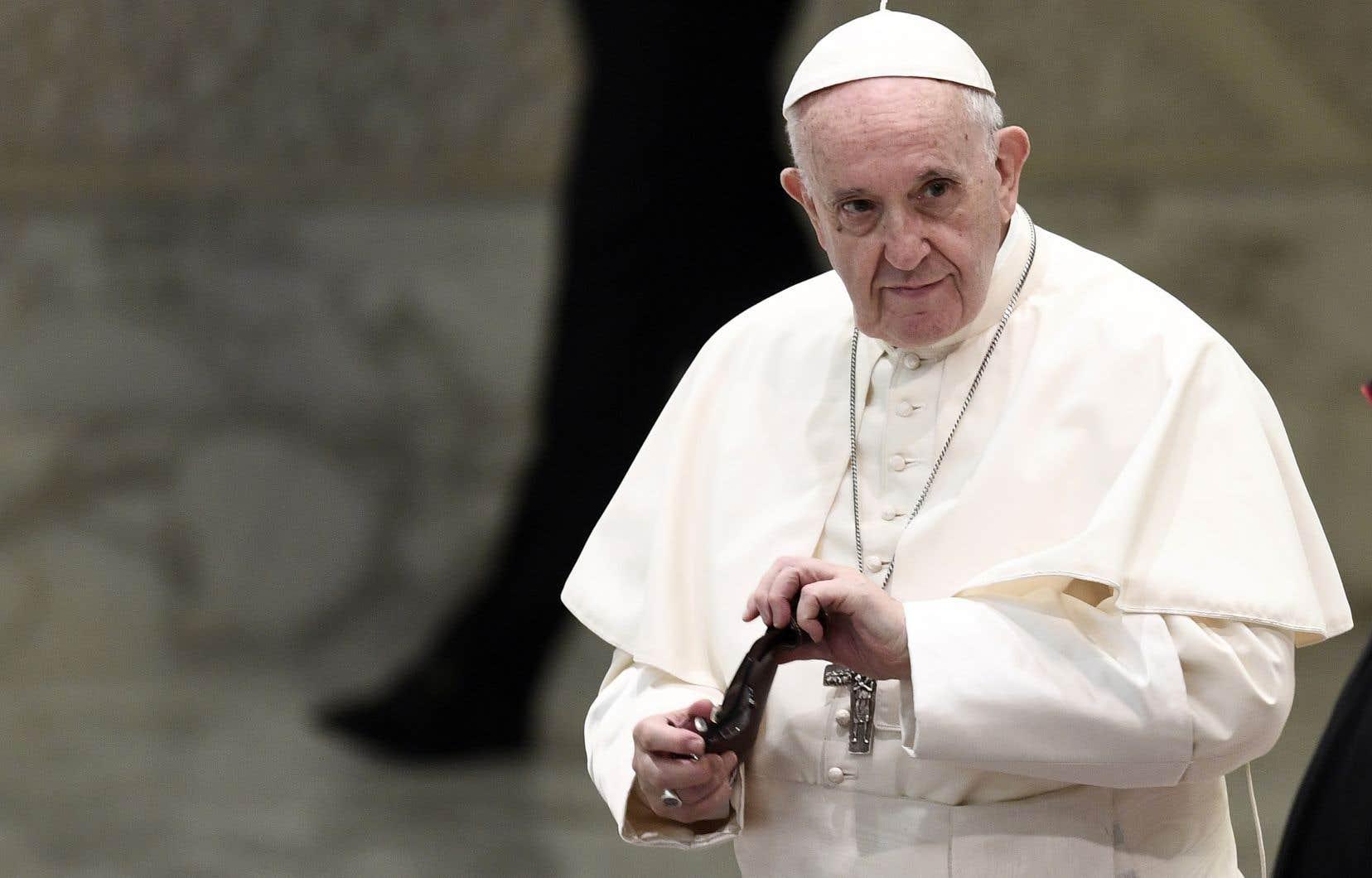 Le pape François a assuré qu'il était du côté des victimes.