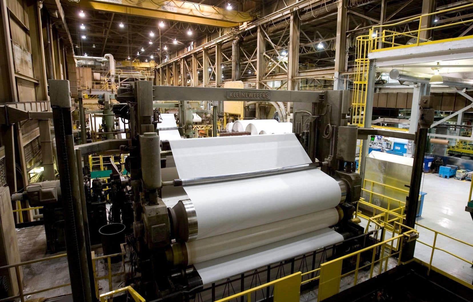 La nouvelle usine, qui se trouvera sur le site de l'entreprise à Brompton, devrait produire à terme environ 70000 tonnes métriques de papier hygiénique et d'essuie-tout par année.