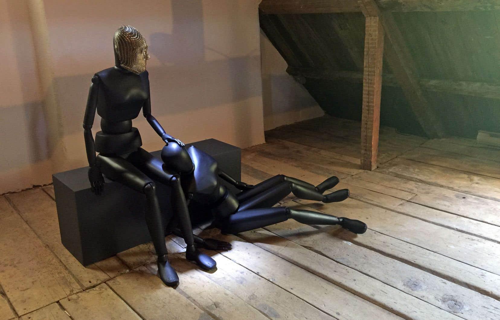 Louise Viger, «Je m'attarde parfois auprès des autres endormies», 2018