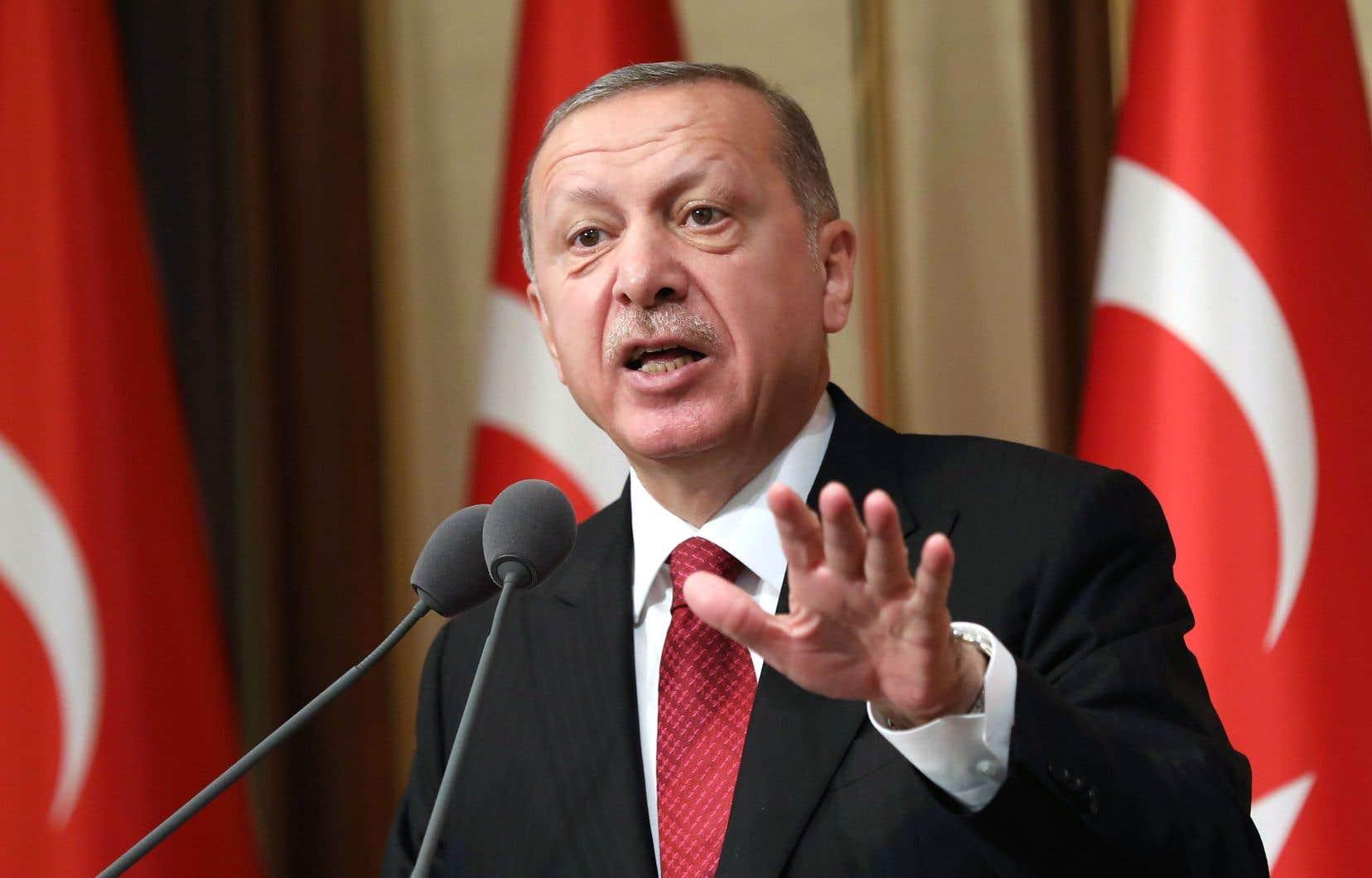 Le président turc, Recep Tayyip Erdogan, ne supporte pas qu'on remette en cause son modèle de développement économique.