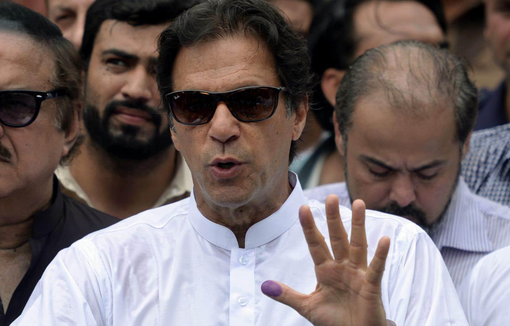 L'ex-champion de cricket Imran Khan