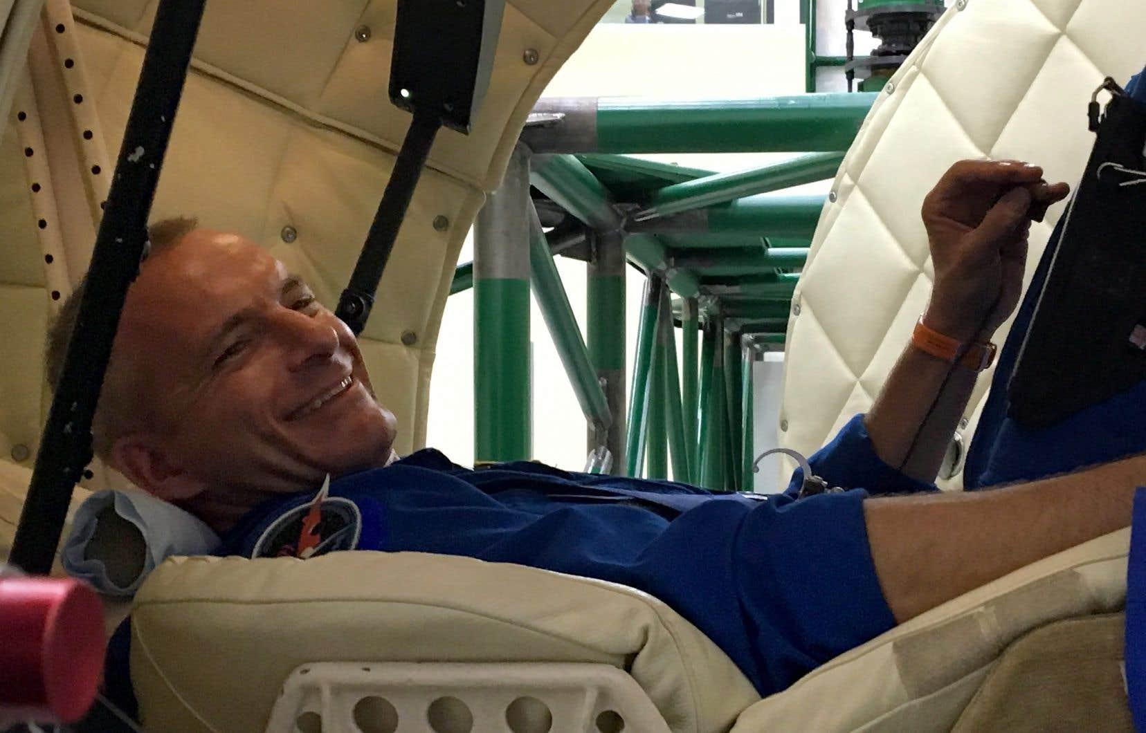 L'astronaute canadien David Saint-Jacques